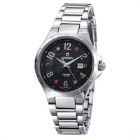 Fashion watch female rhinestone steel strip women's casual women's table watch