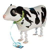 whosale 10pcs/lot Walking My Own Pet Balloons Farm Animals Edition cow walking balloons free shipping