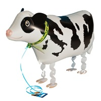 whosale 10pcs/lot Walking My Own Pet Balloons Farm Animals Edition cow walking balloons free shipping
