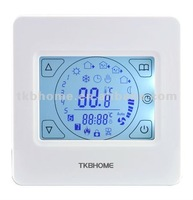E92.716 Weekly Programming Touch Screen Floor Heating Thermostat