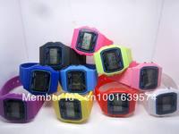 F-91w high quality luminous led electronic watch waterproof Unisex watch chronograph sports movement F91 watch