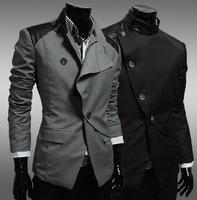 2014 Free shipping hot sale Leisure suits men Slim small suit male coat England Business Single suit tide clothes JK19