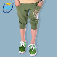 Aiyue sallei child pants child capris male child trousers summer shorts children's clothing 100% cotton casual