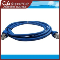 New 1M 3ft CAT5E CAT5 RJ45 Ethernet Internet Network Connector Patch Lan Cable Cord Blue Retail Wholesale Free Shipping 50PCS