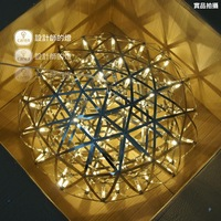 Raimond zafu led fashion flower pendant light