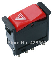 Free Shipping,  New Emergency Hazard Light Switch Fit For Mercedes-Benz 190E 300D 300CD 380SE,000 820 9010 (SCP)