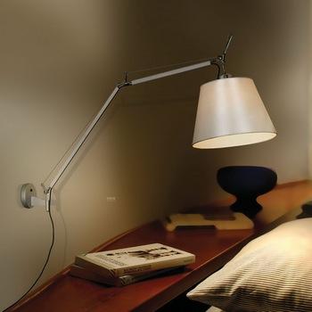 Retractable wall lamp robotic arm long wall lamp fold night light with lampshade multofunctional novelty creative lamps luxury