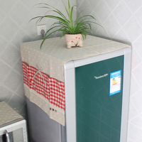 Free shipping Rustic patchwork daisy series refrigerator cover refrigerator dust cover fridge cover icebox cover wholesale