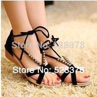 2014 Summer Fashion Slippers Women Sandals Flops Flat Shoes Open Toe Women Wedges Sandals Women's Sandals Free Shipping t043