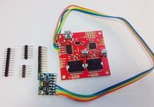 Free shipping Brushless camera mount gimbal control board senor V3 Alexmos Board