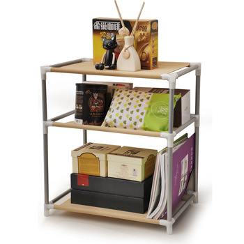 Shelf storage rack shelf non-woven wardrobe multifunctional shoe rack sundries storage rack bookshelf