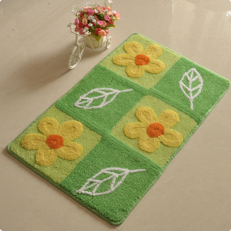 Free shipping high quality Mats doormat mat carpet entrance sanitary pads 50 80cm slip-resistant mats(China (Mainland))