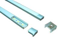 Aluminum Profile for LED Ligting, super slim 8mm recessed aluminum LED profile, HS-ALP002-R