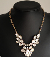 JCN068 / Sweet Girl / Free shipping /wholesale price /wing crystal necklace