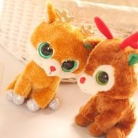 Ty sika deer elizabethans doll decoration gift dolls plush toy new year gift birthday gift 1