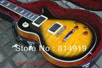 Slash Vintage Sunburst Mahogany one-piece set neck Electric Guitar with case