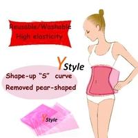 Free Shipping Sauna Slimming Belt High Quality Pink Elastic Sauna Belt for Weight Lossing Shape-up Waist Massage Belt