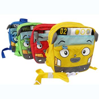 Mini bus car school bag anti-lost backpack child baby backpack