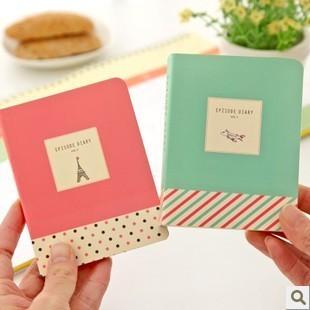 Korea stationery 2013 small fresh palm-sized notepad notebook diary 110g