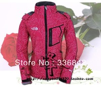 @Free Shipping New NORT Waterproof Softshell outdoor Ladies Fashion Windstopper Jacket