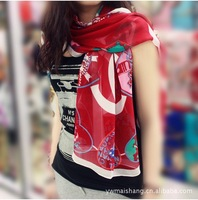 High Quality 160x50cm S18 new spring 2013 women fashion elegant scarve min order is $9