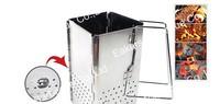 bbq Charcoal starter Chimney Charcoal Starter Stainless steel Charcoal starter