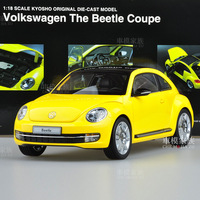 Kyosho vw beetle 2012 beetle model car the beatles yellow