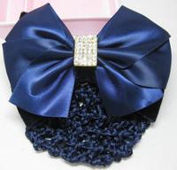Hair accessory bow hair accessory hair accessory clip blue