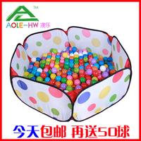 Indoor infant child toy storage basket fence wave pool ocean ball pool ocean ball 400pcs ocean ball+pool