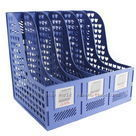 Five grid file column hanaper data rack finishing frame file block table supplies storage box