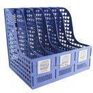 Five grid file column hanaper data rack finishing frame file block table supplies storage box