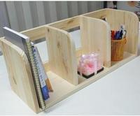Small wood shelves book file shelf file box table of the shelves cd rack