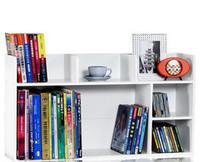 Table small bookcase storage compartment finishing frame study desk bookshelf file holder desktop furniture