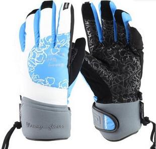 Snail women's winter outdoor ski gloves sports gloves windproof waterproof thermal gloves hx21 mdash . 03
