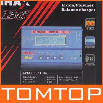 Freeshipping IMAX B6 Digital RC AC Lipo Li-polymer Battery Charger 2PCS/LOT ,Dropshipping Wholesale