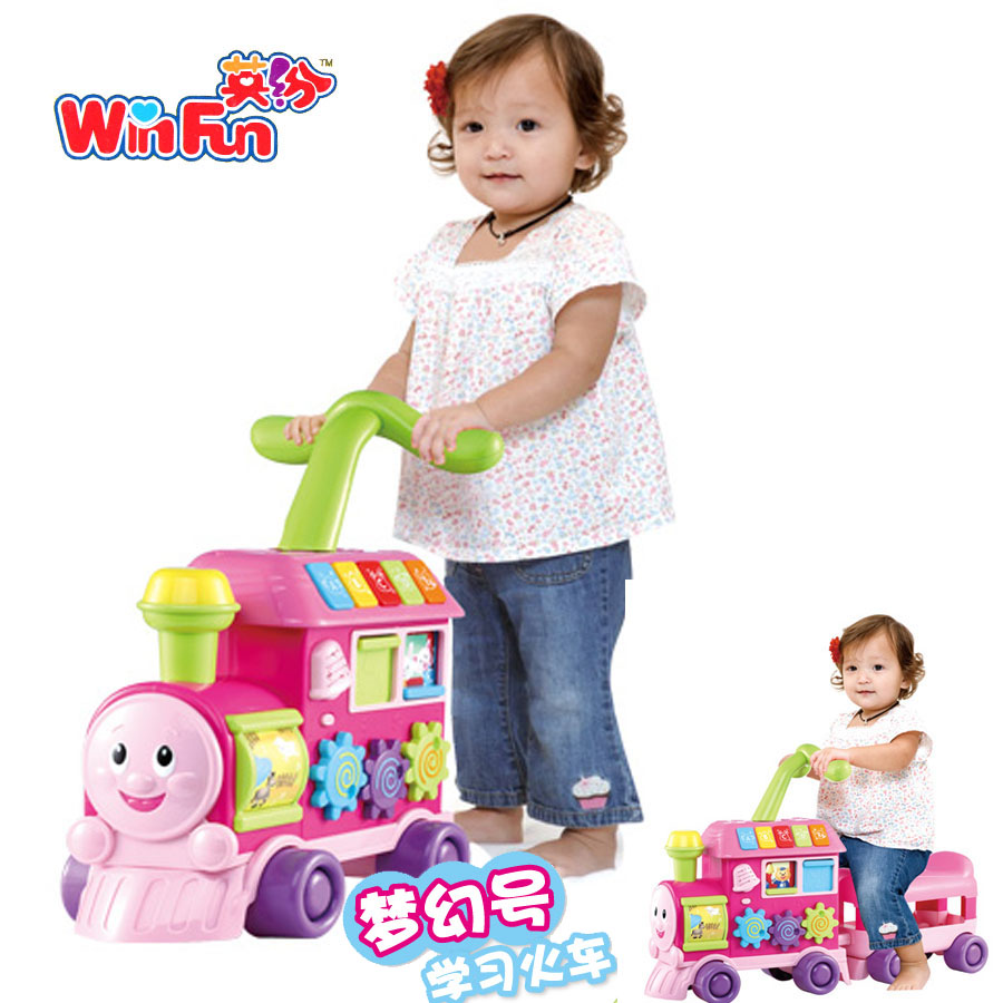 Free shipping Walker trolley multifunctional toddler toy cart(China (Mainland))