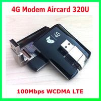 DHL Free Shipping 15pcs/Lot 100Mbps WCDMA LTE 4G Modem Aircard 320U