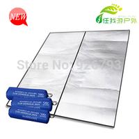 200 200cm aluminum foil moisture-proof pad camping mat tent waterproof pad mats mat car sun-shading fabric