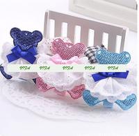 Freeshipping!New Girls/Kids/Infant/Baby CUTE BEAR Hairclamp/Hairpins/Hair Accessories,ZHB205