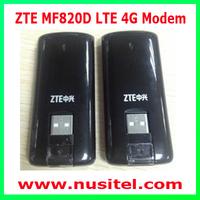 DHL Free Shipping 5PCS/Lot Unlocked ZTE MF820 LTE Modem 100M wireless usb modem LTE MF820D