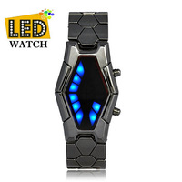 Japanese Inspired LED Watch Mens  LED Watch China post freeshipping! Best choice for gift and yourself!