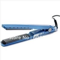 Blue Hair Straightener Pro Nano Titanium ceramic heaters hair straightening iron 1 1/4'' Plate Width 450F BABNT2091T