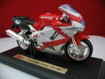 Kawasaki 9r kawasaki zx-9r alloy motorcycle model