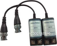 Freeshipping 10 Pairs BNC Video Balun Audio Power CCTV Audio Video Balun UTP twisted pair Power Transceiver