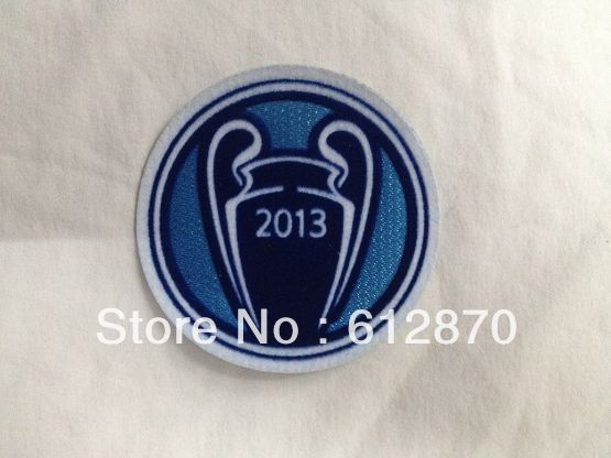 2014 Soccer Patch, The UEFA New Champions Patch, 2013 Bigger Ear Cup Patch ,10 pic/lot !! free shipping(China (Mainland))