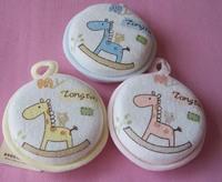 freeshipping Baby shower soft brush 2013 TONGTAI 011 circle newborn baby supplies baby supplies cotton bath