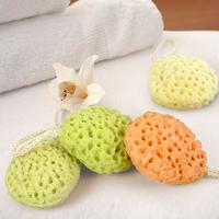 freeshipping Baby shower soft brush Baby bath cotton eco-friendly baby bath ball cartoon style