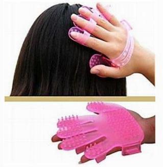 New massage hair brush shampoo massage brush scalp massage brush