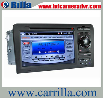 7 inch touch screen 2 din car dvd with built-in bluetooth and gps car dvd player for Audi A3(2003-2011) (8796)