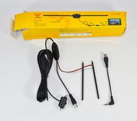 One way car analog TV antenna aerial with amplifier for car dvd car gps car navigation TV good quality hongkong post Free ship